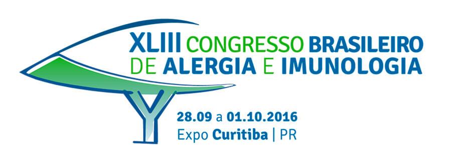 CONGRESSO BRASILEIRO DE ALERGIA E IMUNOLOGIA 2016