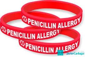 alergia à penicilina