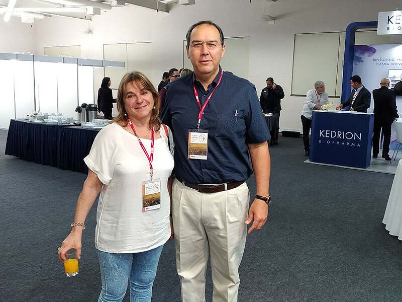 Dra. Liliana Bezrodnik, Chefa do Servicio de Inmunologia del Hospital de Niños, Diretora do Centro de Inmunologia Clínica e Diretora do Centro Jeffrey Modell, na Argentina.