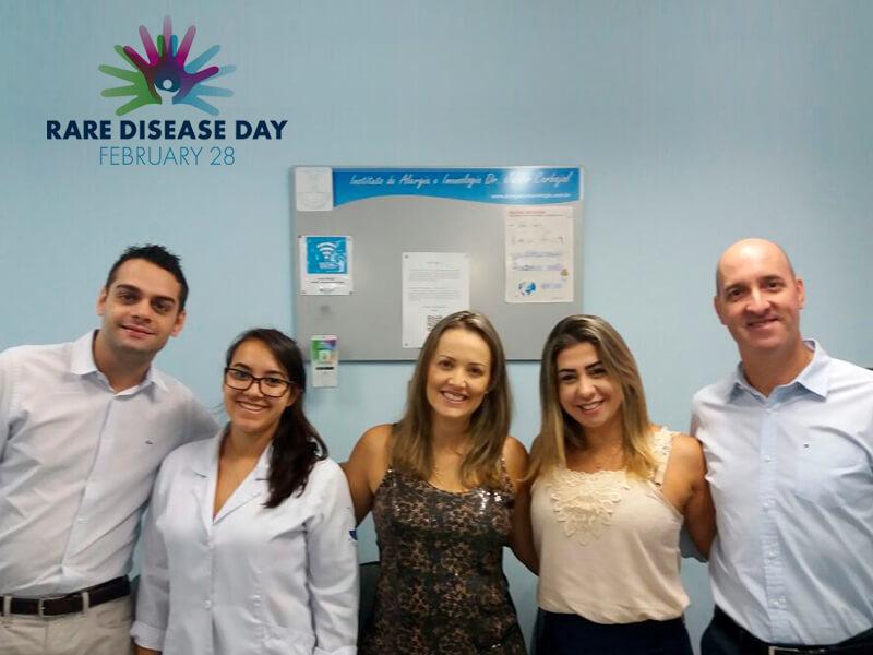Thiago Oliveira (Eurofarma), Giovanna Parussulo (Enfermeira/Estagiária), Alessandra Cavalcante (Eurofarma), Tatiane Palombo (Eurofarma), Joacir Teixeira (Eurofarma)