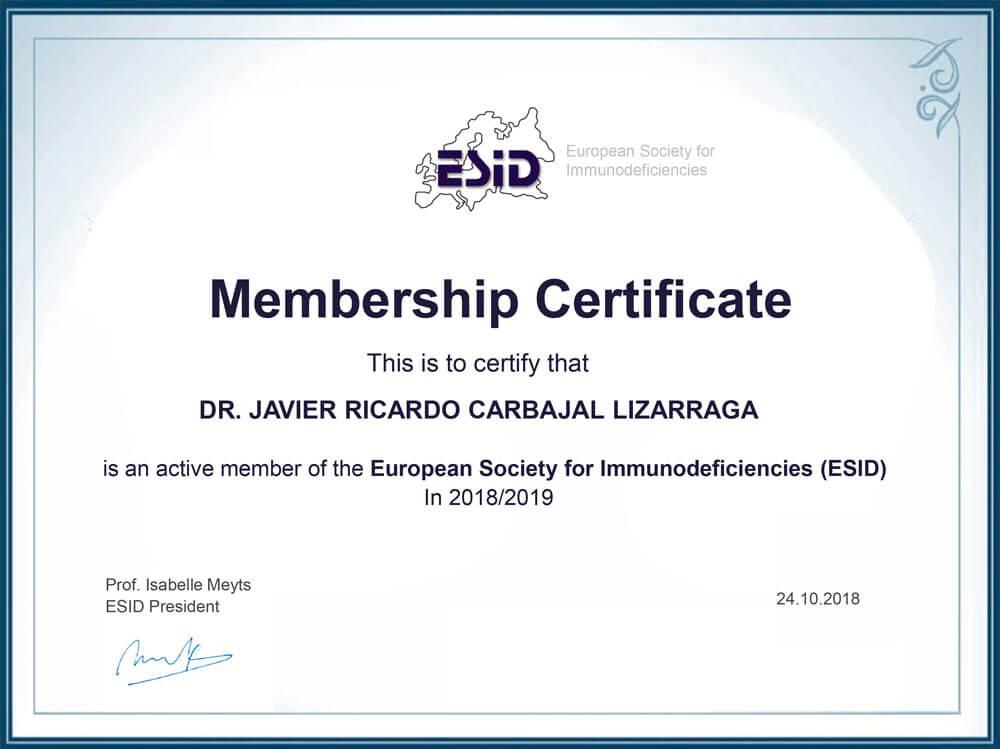 ESID-Membership-certificate_2018-2019-Lizzaraga