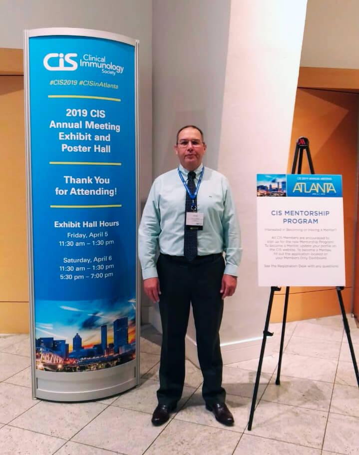Dr. Javier Carbajal participa do encontro anual da Sociedade de Imunologia Clínica – CIS 2019