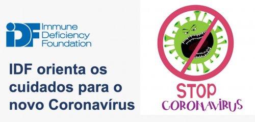 Declaração Da IDF Sobre O Coronavírus